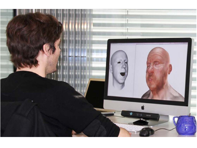 face recognition with 3d model-based synthesis essay